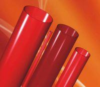 Sell red quartz tube