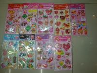 Sell all kinds of material stickers