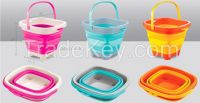 NEWEST 5L folding bucket play sand