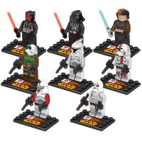 ABS plastic collection blocks minifigures with 8 designs