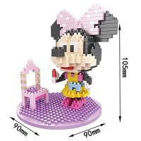 329PCS cartoon figure ABS mini blocks