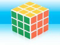 8.5CM ABS plastic educational toy magic cube