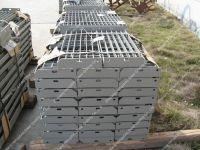 Grey Painted steel grating