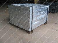3mm steel folded for base of grid pack