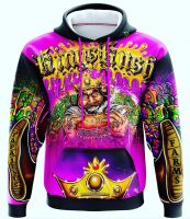 sublimation Digital print hoodies