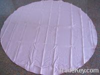 Sell polyester elegant jacquard pink round table cloth
