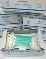 Germ Proof Disposable Mask Surgical Face This Product Is Composed of Mask Body, Nose Clip and Mas