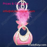 Sell love keychain, keychain and beads, hello kitty keyrings