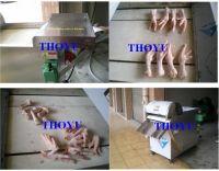 Sell  Chicken Feet Cutting Machine 0086-13733828553