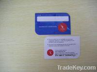 CMYK offset printing plastic card