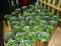 Sell canned gherkins /cornichons/