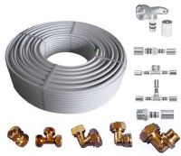 PEX-AL-PEX pipe, brass fittings, pipe fitting, PP-R pipe and fittings