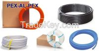 under floor heating pipe and fittings