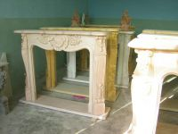 Sell marble fireplace