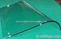 Sell Curving Tempered Glass for Show Case