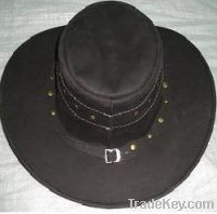 New Latest Western Leather Hat