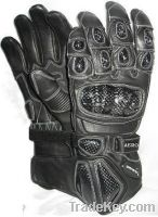 Motorcycle Hand Protection Leather Gloves