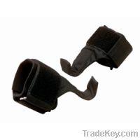 Weightlifting hook wrist strap