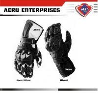Latest Pro Motorbike Racing Leather Gloves