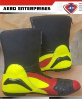 Motorcycle Racing Leather Shoes