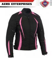 Motorcycle Women Cordura Waterproof CE Jacket