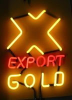 GOLD TABLE neon sign