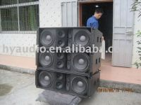 """DS212 Dual 12"""" three-way line array system"""