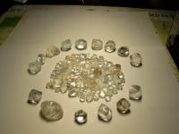 Sell rough diamonds and gold