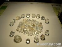 Sell Rough diamonds and gold dust, bar For sell