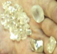 Rough diamonds and gold for sell