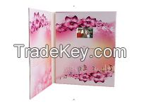 2.4-inch LCD Invitation Video Greeting Card