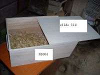 Sell slide lid wooden baskets