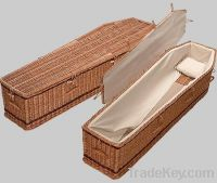 Sell wicker coffins