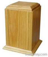 Sell wooden Pet urns oak wood