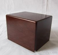 Sell wooden Pet urns in walnut color finish