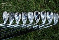 Sell x22 irons set (3 4 5 6 7 8 9 s p)graphite shaft with serial numbe