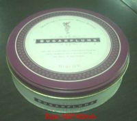 Sell tin cans, tin boxes and print tinplate