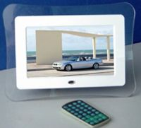 sell 7 inch Digital Photo Frame with multimedia function-SD-DPF701