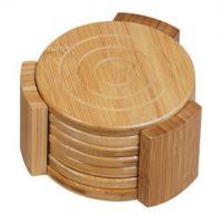 Sell Bamboo Coaster sets -Eco-friendly