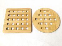 Wholesales from China Bamboo Bowl Mats/Coasters