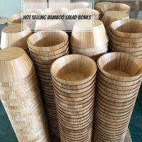 Sell Bamboo wooden Tableware Bamboo Salad Bowls