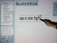 interactive  electronic white board