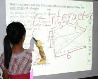 projection USB electronic interactive whiteboard