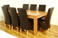 Sell  NP301&NP335 oak dining table&chairs