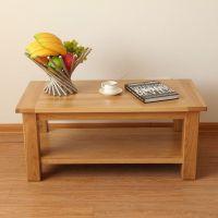 Solid oak coffee table NM412