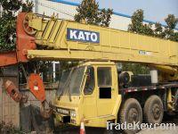 Sell Kato hydraulic truck crane NK500E-3 50ton, 1993