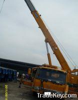 Sell Kato fully hydraulic truck crane NK550-V, 2008
