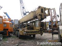 Sell Tadano truck crane 50ton with Nissan Engine