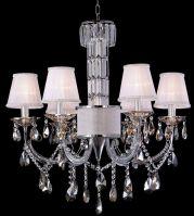 modern crystal candle lamp/chandelier lighting/MD-10025-6CR