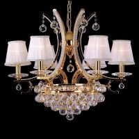crystal pendant lamp/modern chandelier lighting/MD-10042-6CR